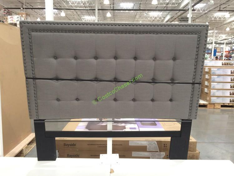 Bayside Furnishings Upholstered Headboard 2 Styles