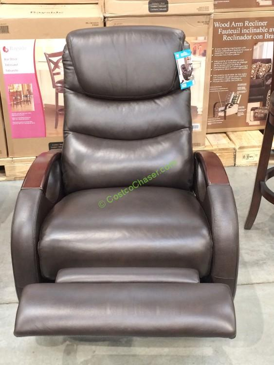 True Innovations Executive Chair Brown Leather Costco 49