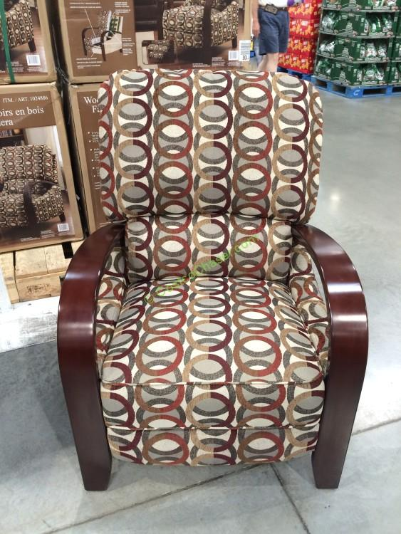 Synergy Home Push Back Fabric Recliner