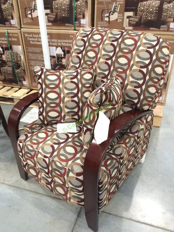 Synergy Home Push Back Fabric Recliner Costcochaser