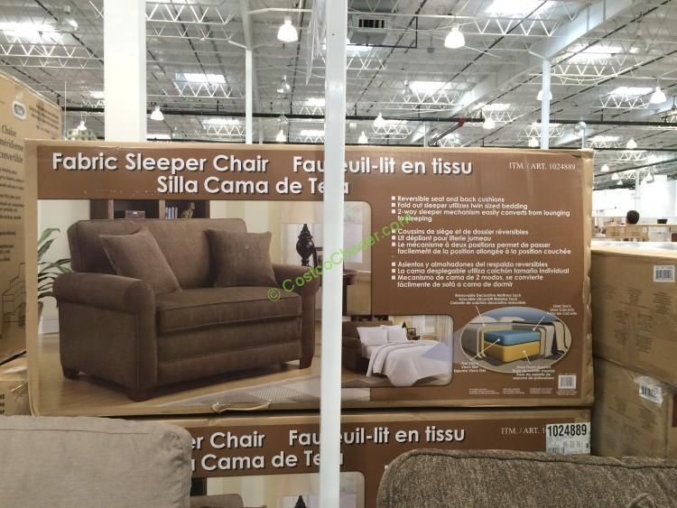 Costco 1024889 Synergy Home Twin Sleeper Chair Box