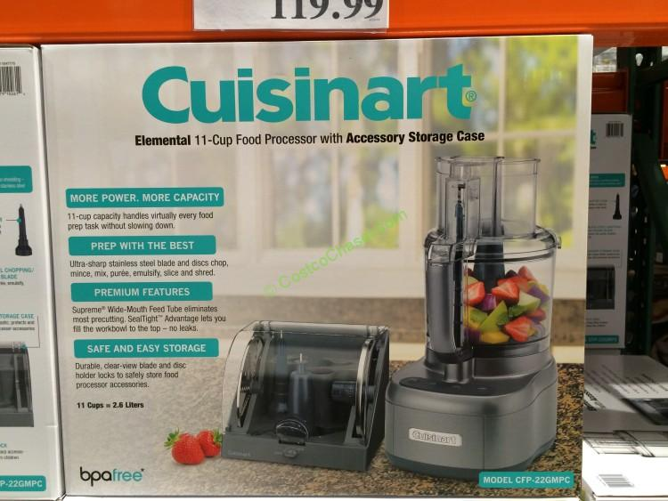 Cuisinart 11-Cup Food processor with Accessory Case Model CFP-22GMPC