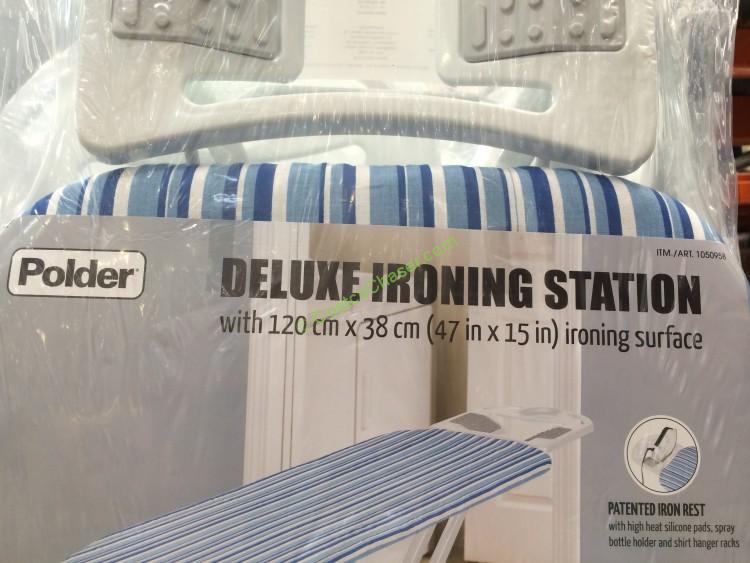 Polder Ironing Board With Additional Pad Amp Cover