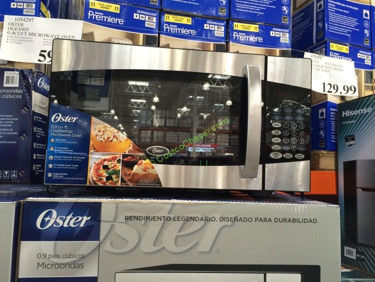 Oster 0.9 CUFT Microwave Oven Model# OGFX905