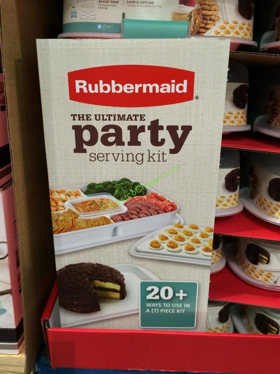 Costco-1055885-Rubbermaid-Party-service-Store-PartySet-name