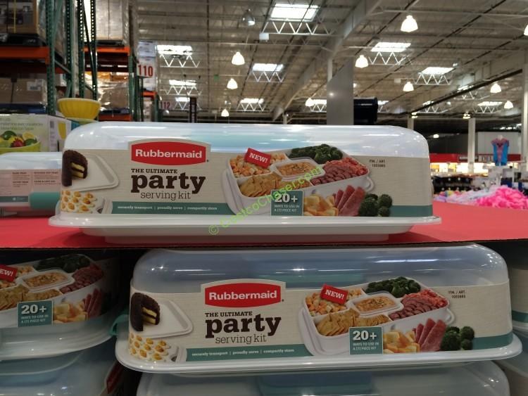 Costco-1055885-Rubbermaid-Party-service-Store-PartySet