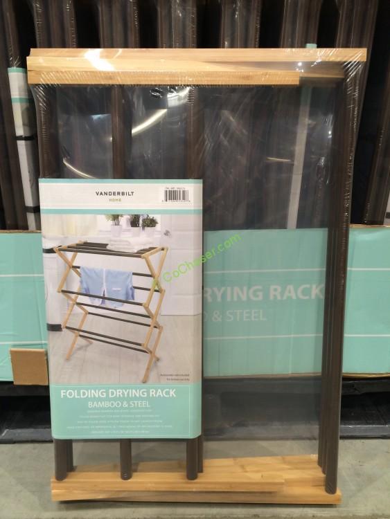 Costco 1062213 Vanderbilt Folding Drying Rack Costcochaser