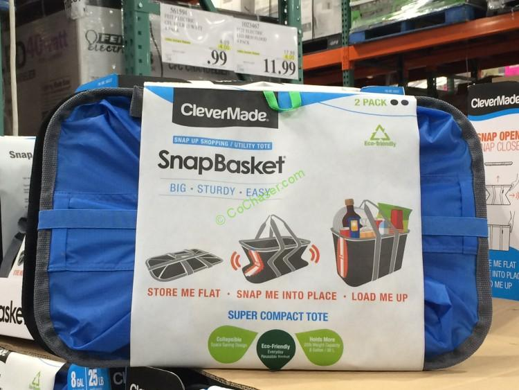 Clevermade 2PK SnapBasket 30L or 25lb Each