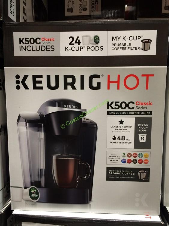 Keurig K50C Coffee Maker with 24 K-Cup Pods