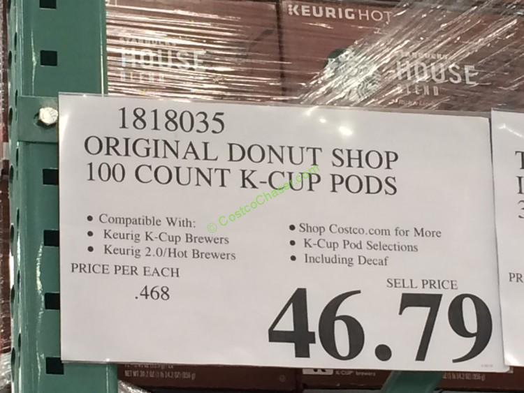 Costco-1818035- Original-Donut-Shop-100-Count-K-Cup-Pods-tag