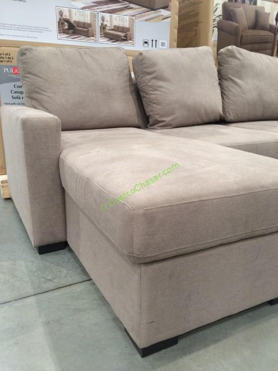 Pulaski Furniture Convertible Sofa Model 155 1367 501 K1