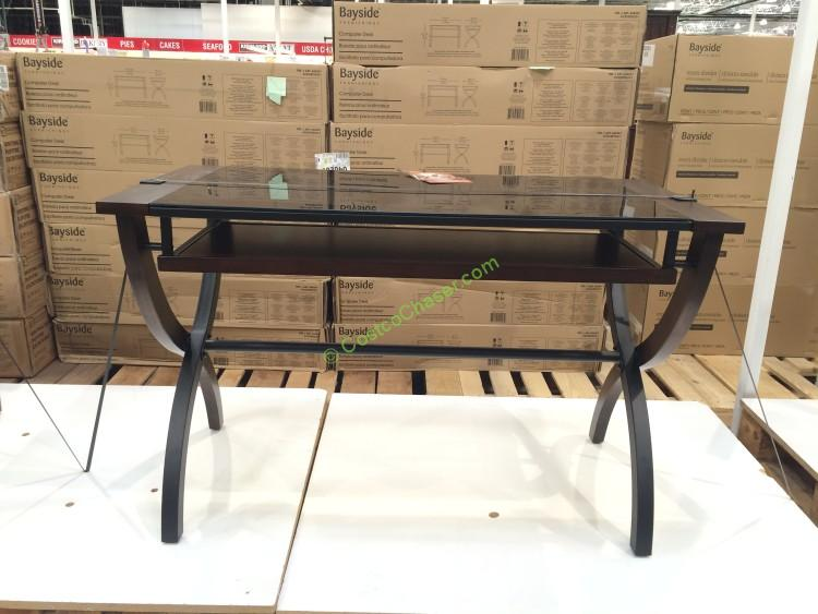 Costco 640267 Bayside Furnishings Office Desk Costcochaser