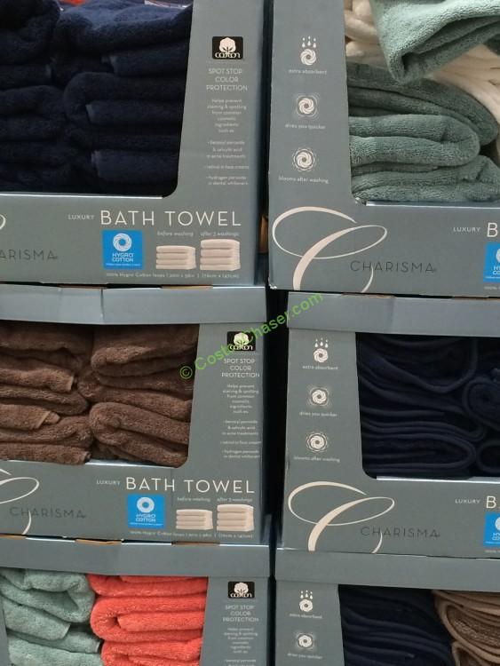 "Charisma Asst Color Bath Towel 30"" x 58"""