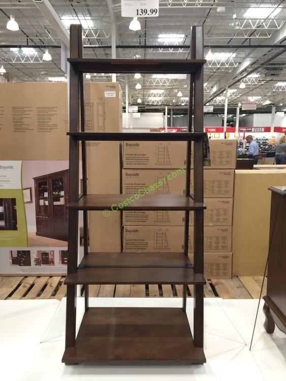 Costco 697334 Bayside Furnishings Ladder Bookcase
