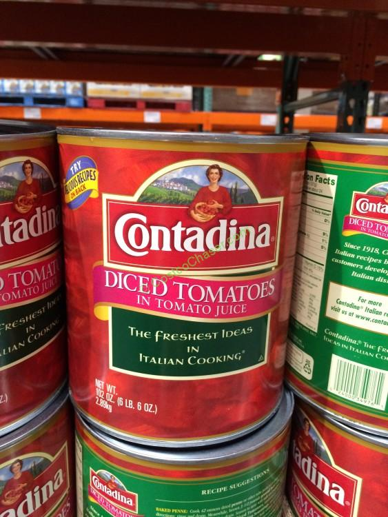 Contadina Diced Tomatoes 102 Ounce Can
