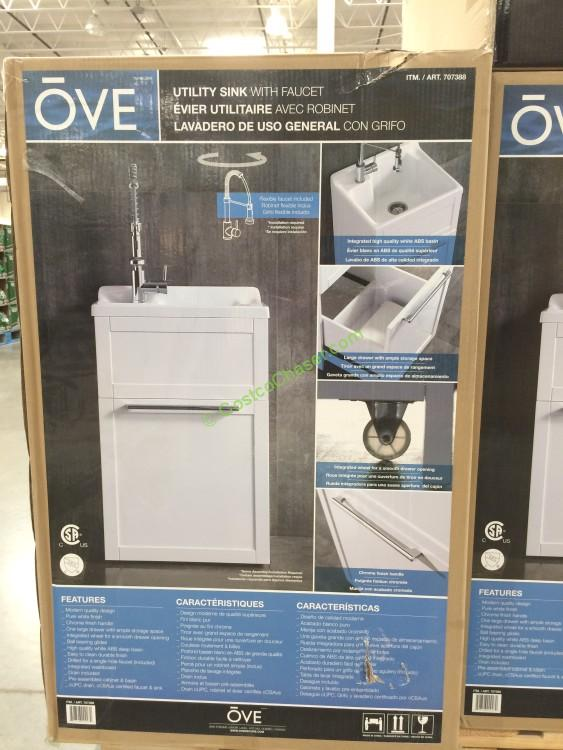 Westinghouse Laundry Sink With Cabinet : Costco Ove 22? Daisy Utility Cabinet with Sink & Faucet Price: $199 ...