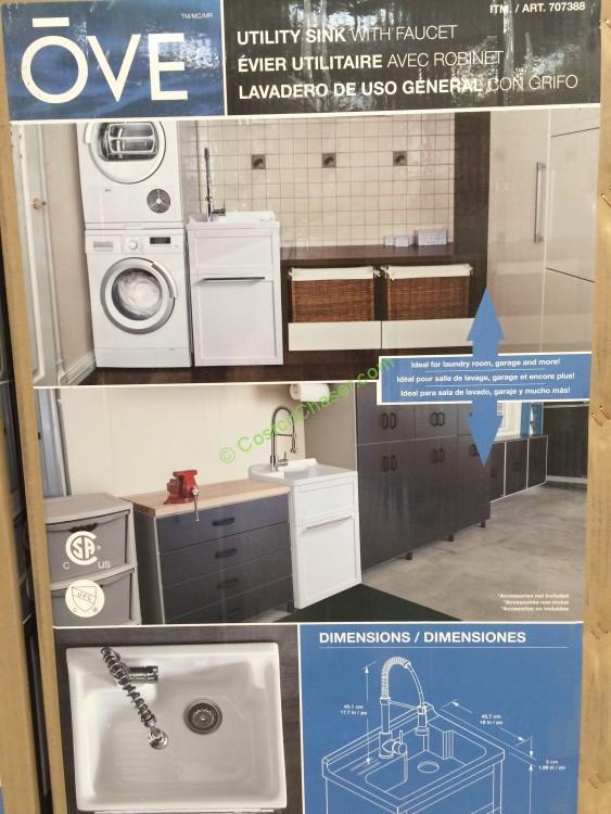 Costco 707388 Ove 22 Daisy Utility Cabinet With