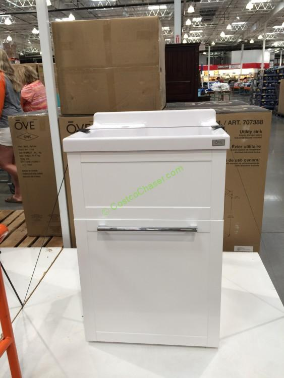 Costco Laundry Sink : Ove 22? Daisy Utility Cabinet with Sink & Faucet -CostcoChaser