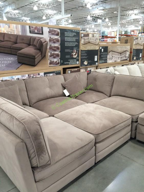 Costco-735123-Bainbridge-7PC-Modular-Fabric-Sectional1