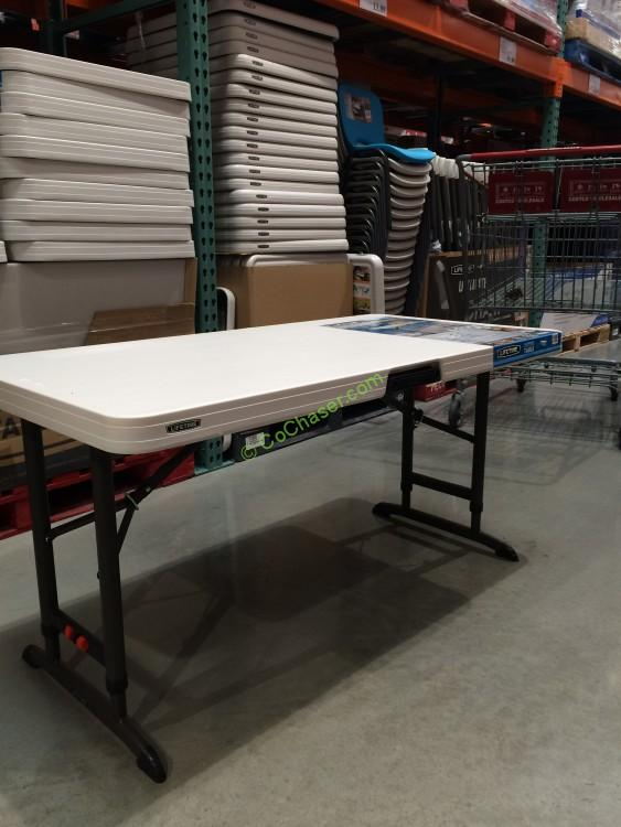 Lovely Costco 886092 Lifetime Products 4FT  2 FT Utility Table