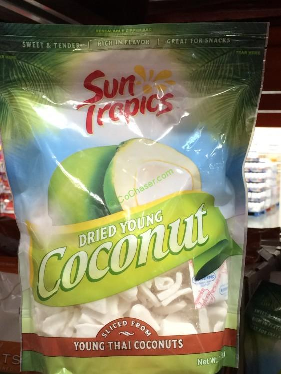 Sun Tropics Dried Young Coconut 20 Ounce Bag