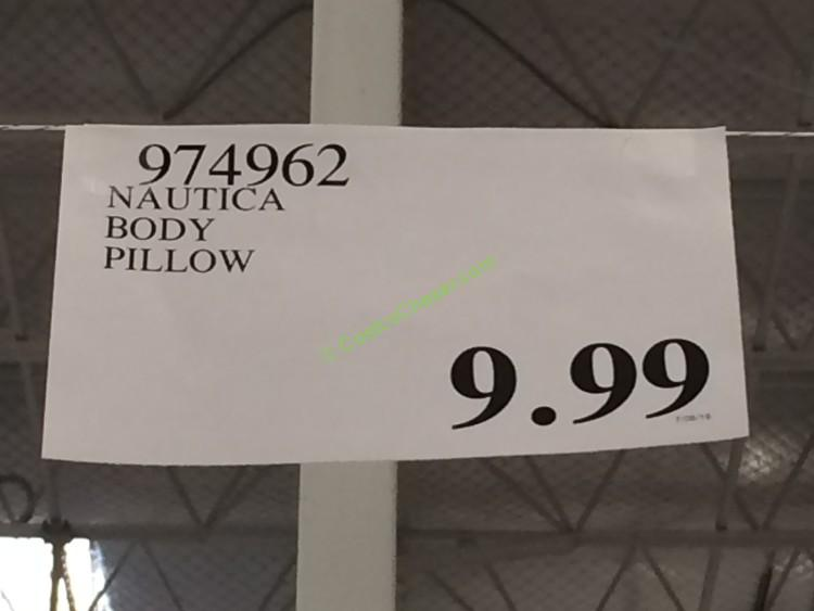 Nautica Body Pillow Costcochaser