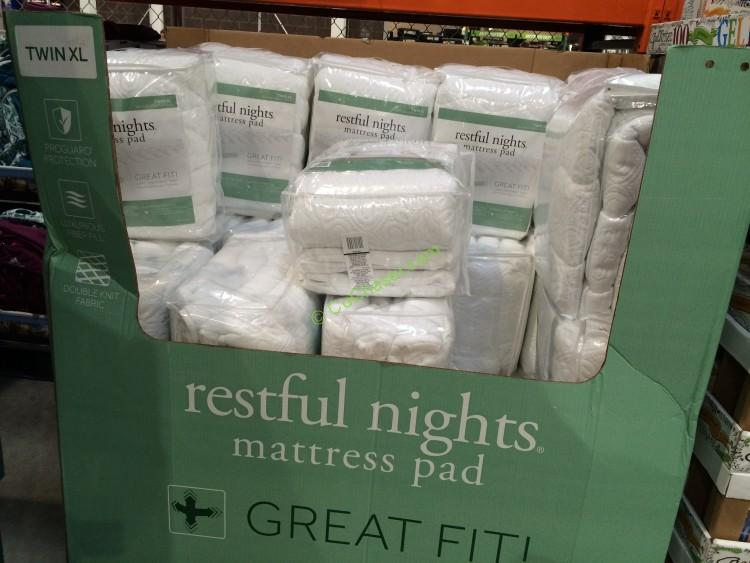 Restful Nights Mattress Pad Twin XL - CostcoChaser