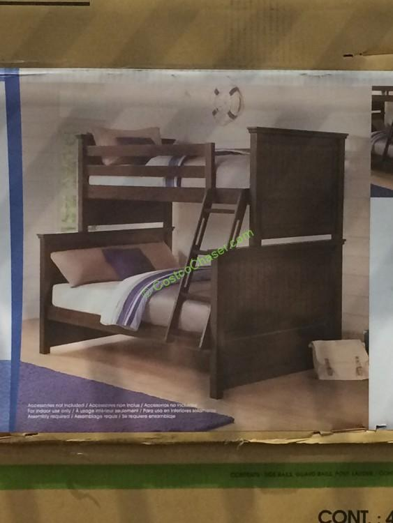 Bayside Furnishings Twin Over Full Bunk Bed Costcochaser