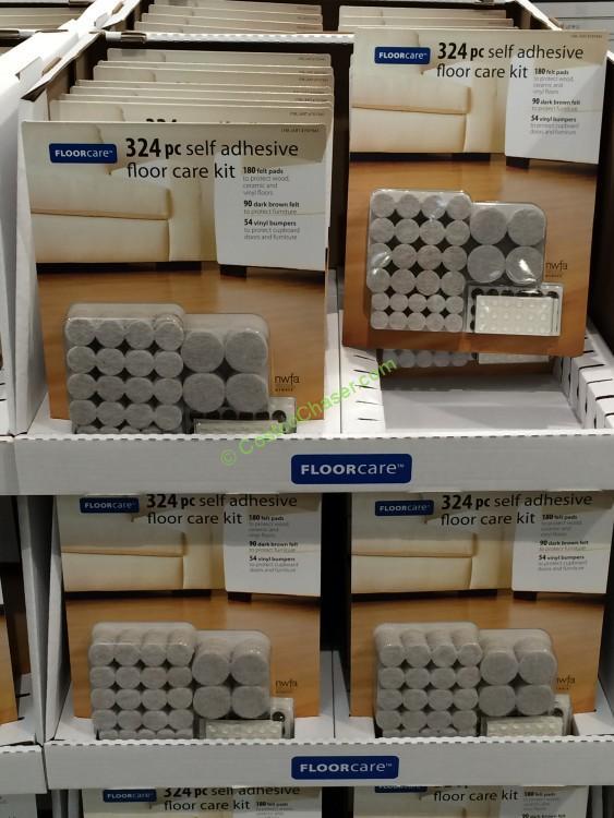 278 Piece Floor Care Kit Self Adhesive Felt Pads