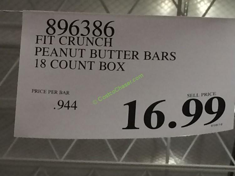 costco-896386-Fit-Crunch-Peanut-Butter-Bars-tag – CostcoChaser