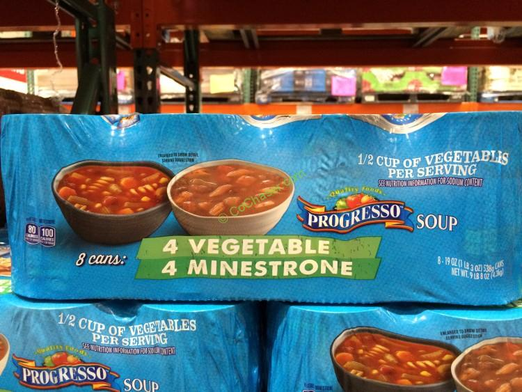 Progresso Minestrone & Vegetable 8/19 Ounce Cans