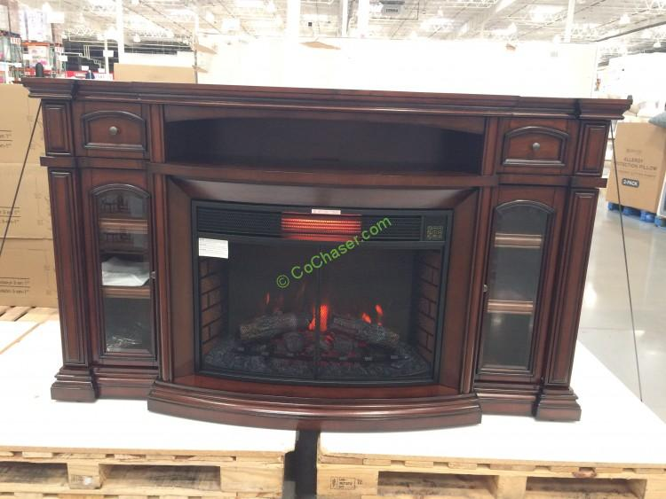 Well Universal 72 Electric Fireplace Media Mantle Costcochaser