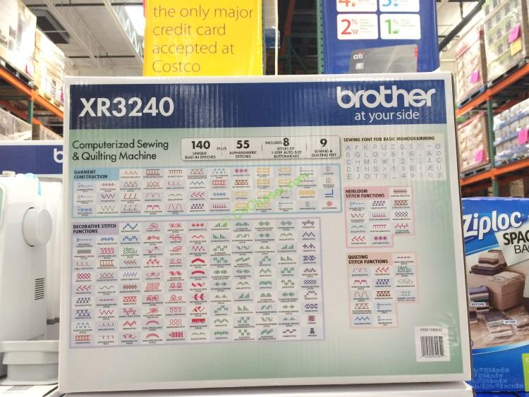 Costco 1088242 Brother Xr3240 Computerized Sewing Machine Use