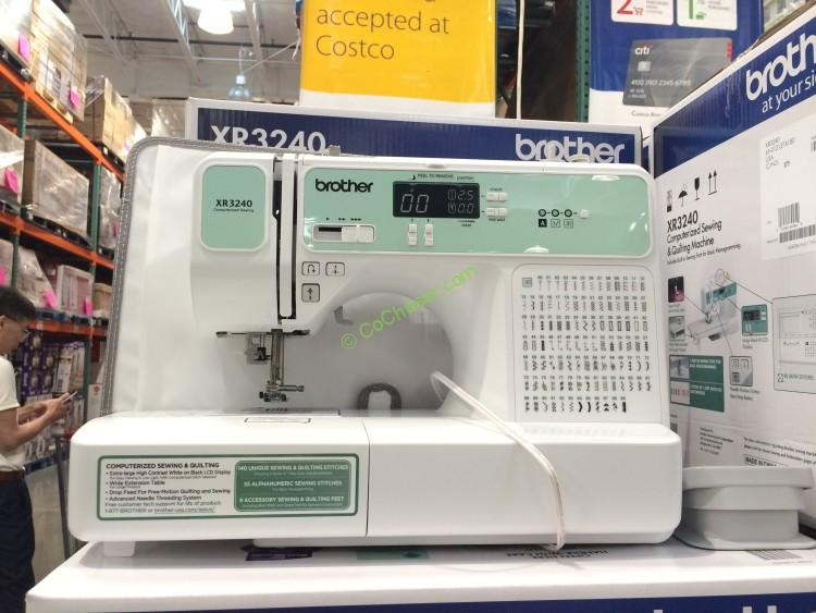 Brother XR40 Computerized Sewing Machine CostcoChaser Interesting Costco Sewing Machine