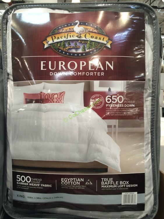 High Quality Costco 1988992 Pacific Coast Feather Pyrenees Down Comforter