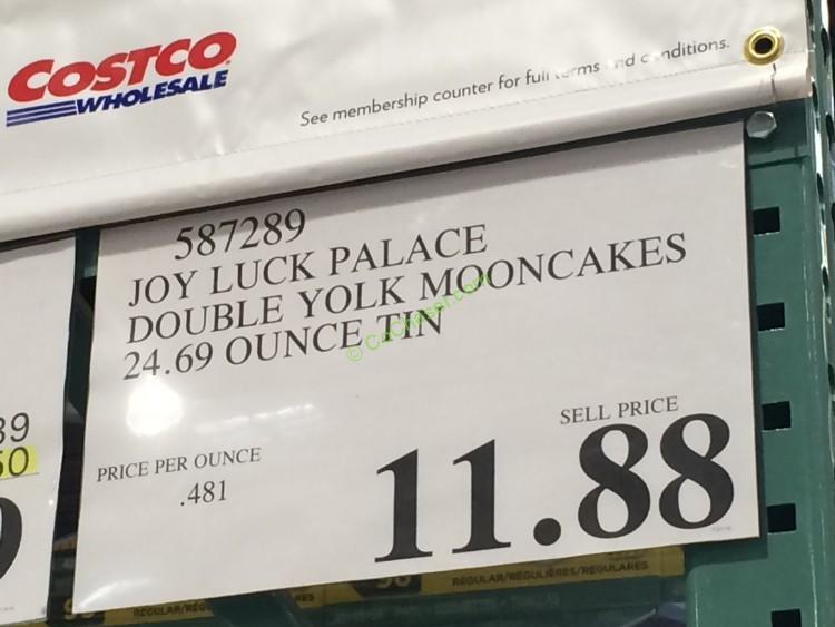 Joy Luck Palace Double Yolk Mooncakes 24 69 Ounce Tin