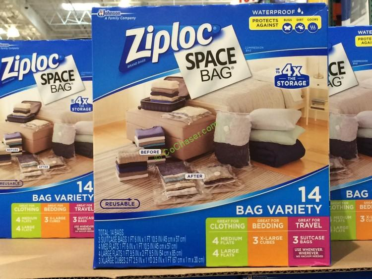 Costco has the Space Bag Storage Bags 14 Count on sale again for $ (after manufacturer's instant rebate), now through January 6, or while supplies last. That is $6 off Costco.