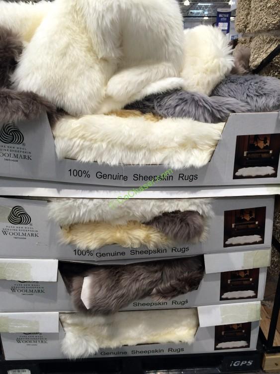 Windward Sheepskin Quad Rug Costcochaser