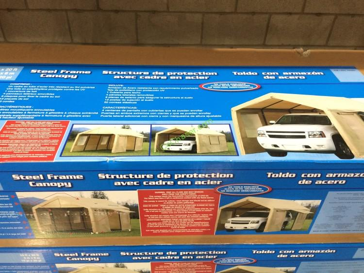 10 Ft X 20 Ft Portable Car Canopy Instructions 10 Ft X 20