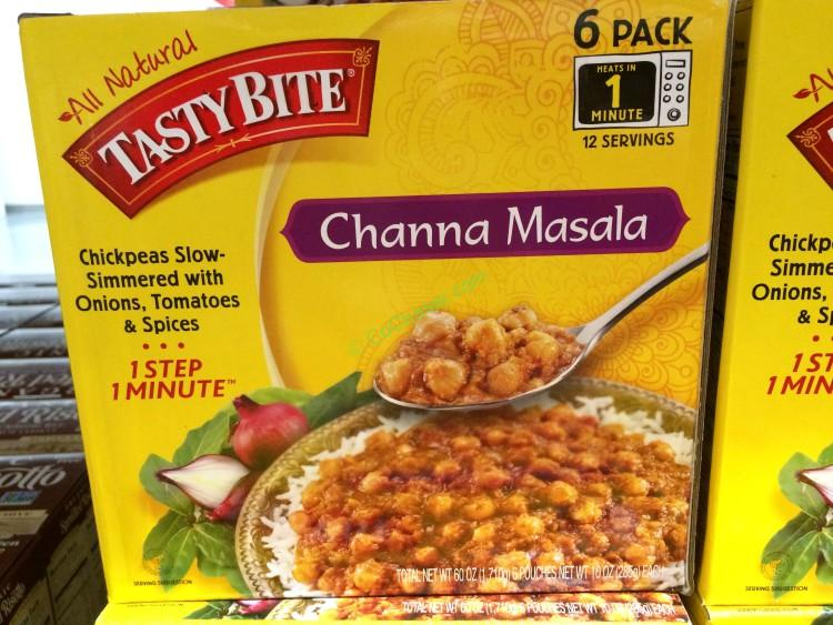Tasty Bite Channa Masala 6/10 Ounce Pouches