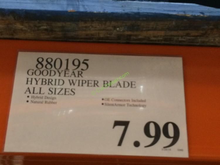 Goodyear wipers at costco