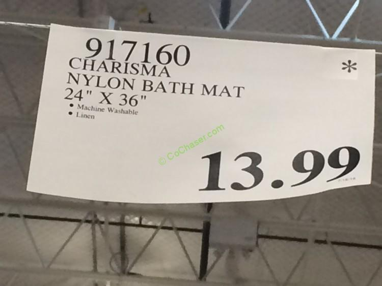 Charisma nylon bath mat 24 x 36 costcochaser for Ecotrend mats