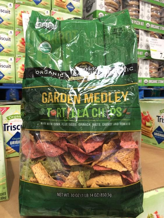 The Whole Earth Organic Garden Medley Tortilla Chips 30