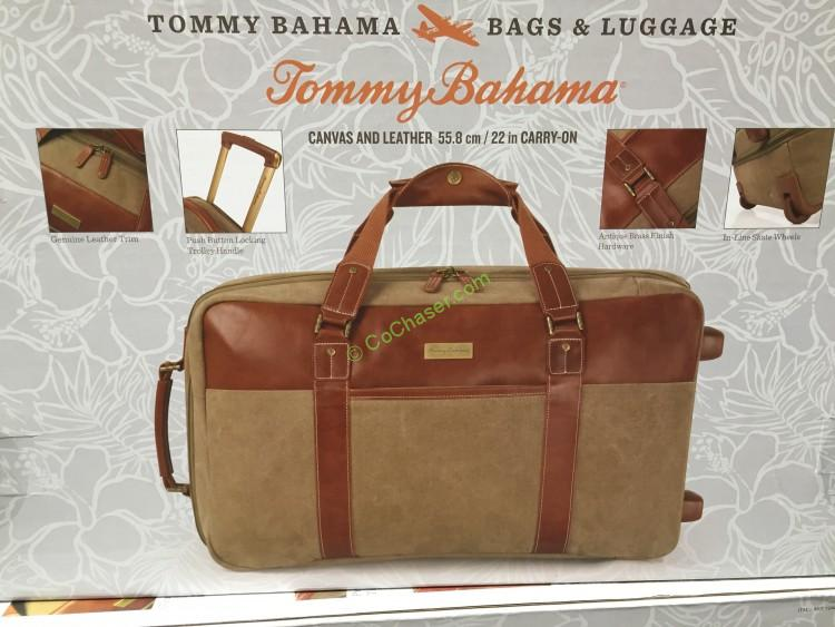 Tommy Bahama Rolling Duffel - Paradisio Collection