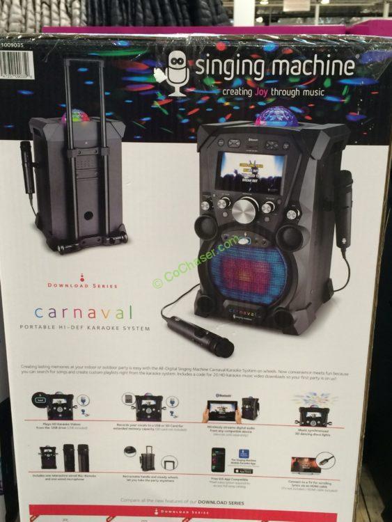 Costco-1009035-Singing-Machine-Portable-Karaoke-Machine-back