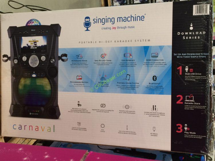 Costco-1009035-Singing-Machine-Portable-Karaoke-Machine-pic