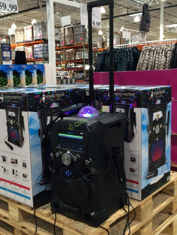 Costco-1009035-Singing-Machine-Portable-Karaoke-Machine