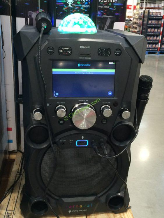 Singing Machine SDL 9035 Portable Karaoke Machine ...