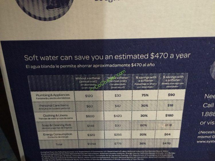 Costco 1018160 Morton Water Softener Inf8 Costcochaser