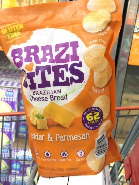 Brazi Bites Brazilian Cheese Bread 36 Ounce Package